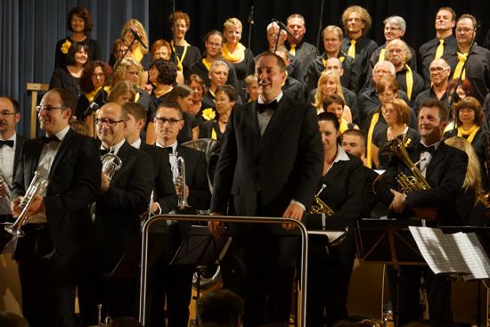 Chorisma und die Brass Band Oberschwaben-Allgäu